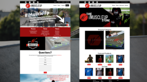 imuscleup.com website layout
